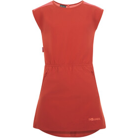 TROLLKIDS Arendal Vestido Niñas, mystic red/coral